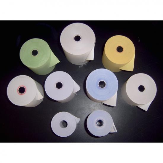 กระดาษม้วนใบเสร็จชนิดปอนด์สี กระดาษม้วนใบเสร็จชนิดปอนด์สี