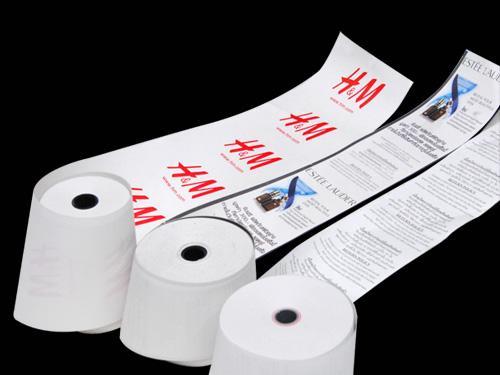 ศรีไทยเปเปอร์ซัพพลาย บจก - กระดาษใบเสร็จพิมพ์ลายด้านหลัง