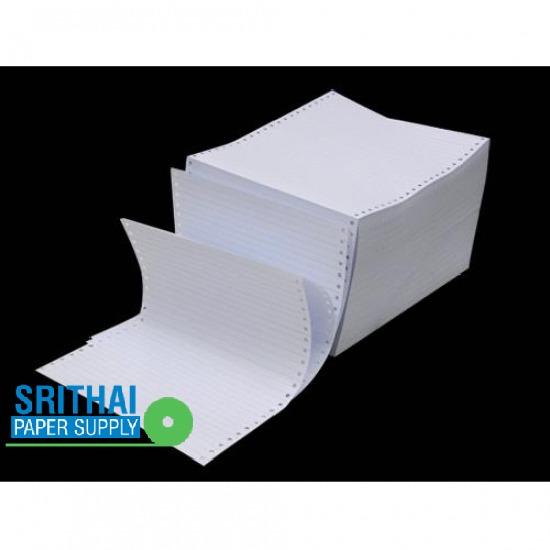 กระดาษฟอร์มเปล่าคอมพิวเตอร์ กระดาษฟอร์มเปล่าคอมพิวเตอร์  กระดาษเคมี  กระดาษเคมี 2 ชั้น  แบบฟอร์มกระดาษต่อเนื่อง