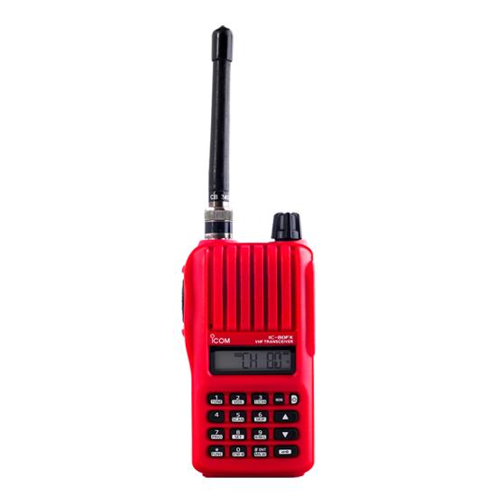 icom IC-80FX  - บริษัท อเมเจอร์ กรุ๊ป จำกัด - วิทยุสื่อสาร อุปกรณ์สื่อสาร icom