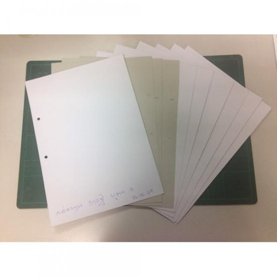 คลังกระดาษไทย สงขลา ภาคใต้ - กระดาษกล่องขาวเทา (หน้าไม่มัน...