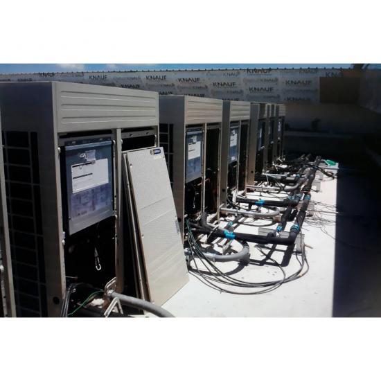 วิศวะแอร์เอ็นจิเนียริ่ง จก บริษัท - งานติดตั้งระบบ VRV