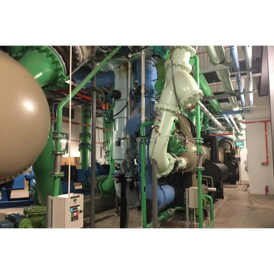 วิศวะแอร์เอ็นจิเนียริ่ง จก บริษัท - บริการรับงานล้างทำความสะอาดเครื่องชิลเลอร์