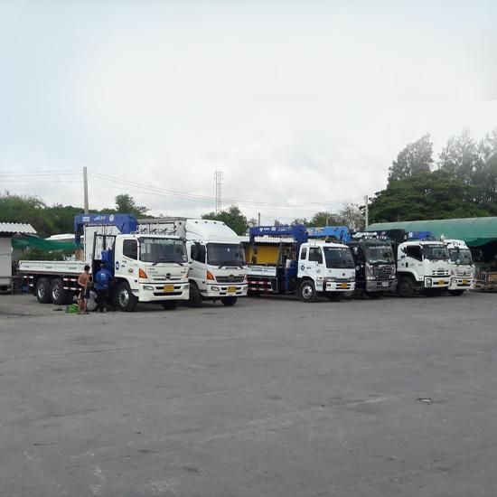 รถบรรทุกให้เช่า - ห้างหุ้นส่วนจำกัด อามเซอร์วิส2007  - รถบรรทุกให้เช่า
