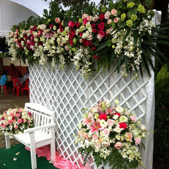 บ้านดอกไม้ - จันทบุรี - บริการจัดดอกไม้