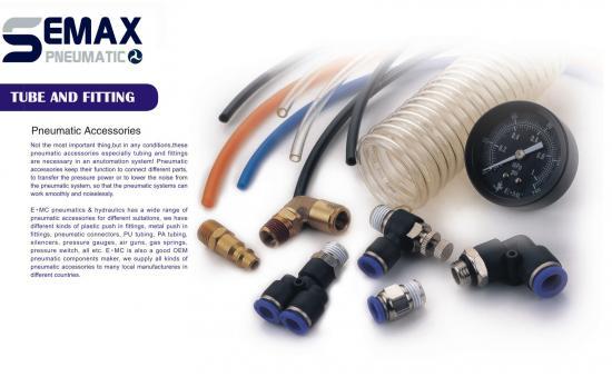 TUBE FITTING AND SILENCER - ซันเทค อินเตอร์เทรด นิวเมติกส์ - สายลม ฟิตติ้ง fitting tube ข้อต่อ ข้อต่อพลาสติก ข้อต่อเหล็ก ข้อต่อตรง ข้อต่องอ ข้อต่อลด spc spl ข้อต่อสามทาง ข้อต่อชน speed control coupler flow control clamp quick coupler silencer