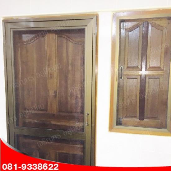 ออกแบบติดตั้งประตูไม้ ประตู
