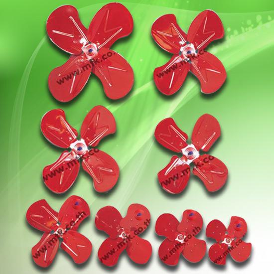 พัดลมโรงงาน - มงคลถาวรกิจ - ใบพัดลมแดง