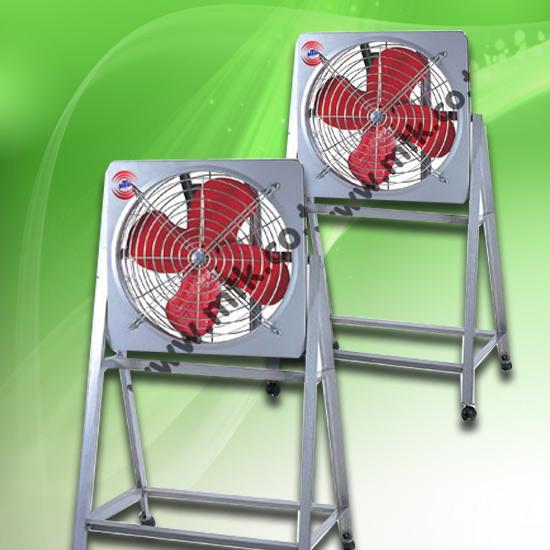 พัดลมอุตสาหกรรม - มงคลถาวรกิจ - พัดลมระบายอากาศแบบขาตั้ง