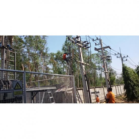 ติดตั้งระบบไฟฟ้า รับเดินสายเสาไฟฟ้า  รับปักเสาไฟฟ้า  รับเหมาระบบไฟฟ้า  บริษัทรับเหมาระบบไฟฟ้า