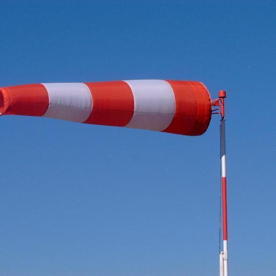 ถุงลมบอกทิศทาง (WINDSOCK) ถุงลมบอกทิศทาง  อุปกรณ์เซฟตี้  ระยอง  ปลวกแดง  อุปกรณ์ป้องกัน  โรงงาน