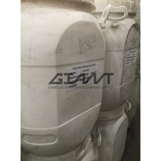 Calcium Hypochlorite 65% คลอรีนผง  คลอรีนผง  ผงฟองจาง  แคลเซียมไฮโปคอลไรท์  Calcium Hypochlorite  Ca(CIO)2  Bleaching powder  calcium oxychloride  chlorinated lime