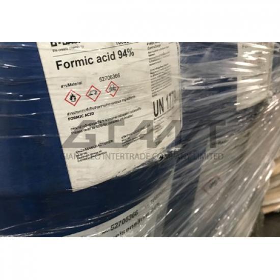 ไจแอนท์ ลีโอ อินเตอร์เทรด บจก - Formic Acid 30% กรดมด