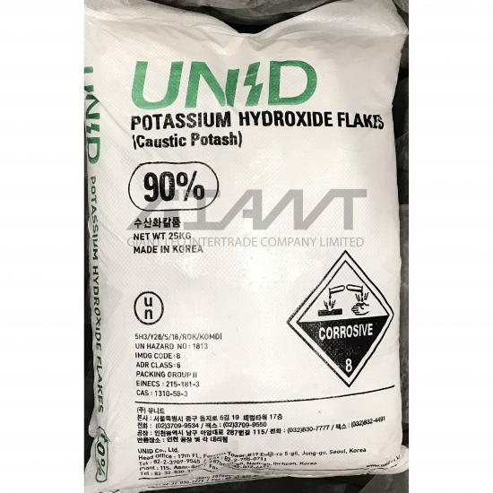ไจแอนท์ ลีโอ อินเตอร์เทรด บจก - Potassium Hydroxide 90%, 95% โพแทสเซียมไฮดรอกไซด์