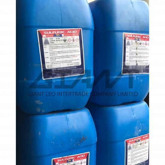 ไจแอนท์ ลีโอ อินเตอร์เทรด บจก - Sulfuric Acid 50%, 98% กรดกำมะถัน