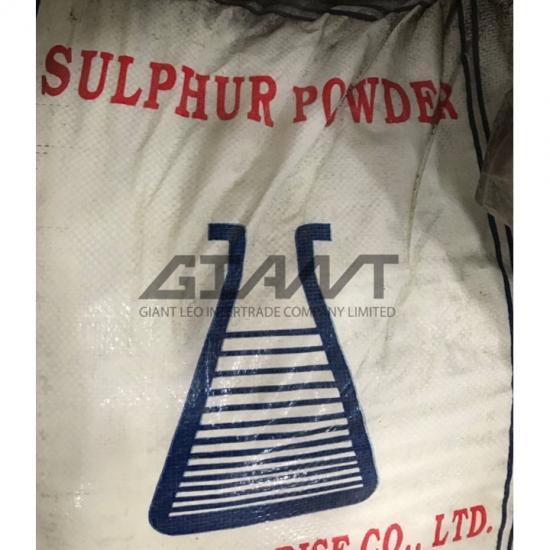 ไจแอนท์ ลีโอ อินเตอร์เทรด บจก - Sulfur Powder กำมะถันผง