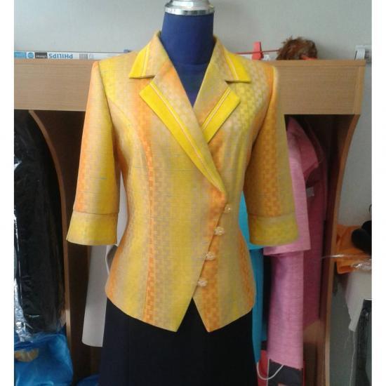 ร้านตัดเสื้อ ป๊อปดีไซน์ - ชุดผ้าไหม