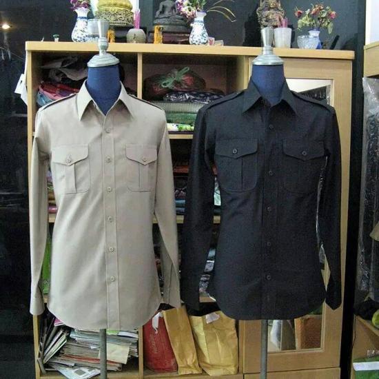 ร้านตัดเสื้อ ป๊อปดีไซน์ - ชุดซาฟารี