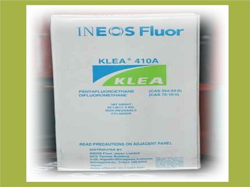 น้ำยาเครื่องทำความเย็น KLEA 410a - บริษัท คอฟโก้ เคมีคอล จำกัด
