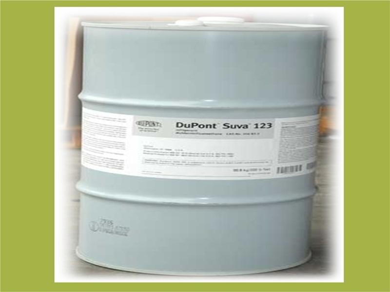 น้ำยาแอร์ DoPont SUVA 123 สารทำความเย็น ดูปองท์ซูวา