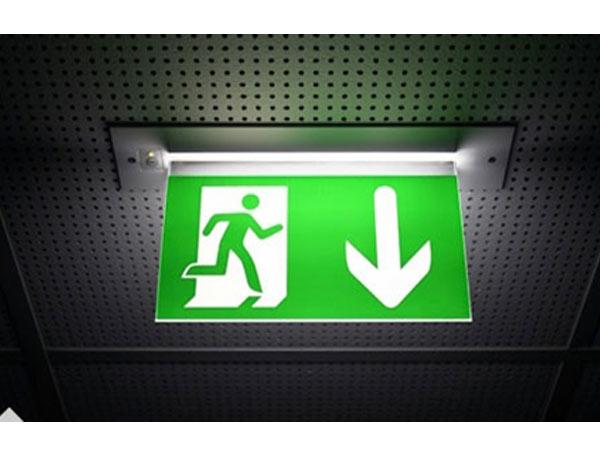 ป้ายทางออก ฉุกเฉิน emergency exit - บริษัท ยู เอส มาร์เก็ตติ้ง จำกัด