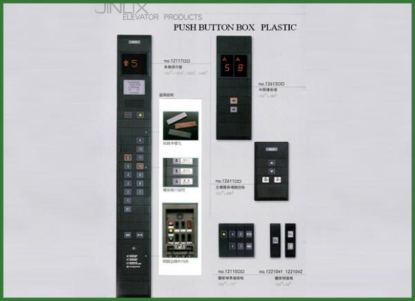 Push Button Box Plastic