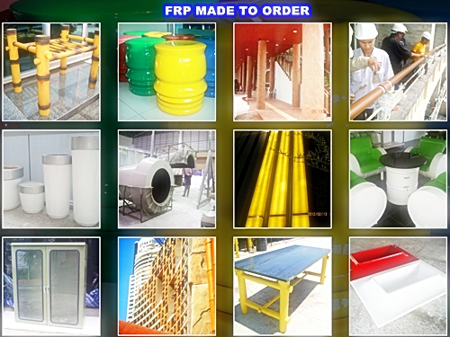 FRP MADE TO ORDER