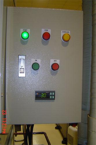 ผลิต & ติดตั้งตู้ CONTROL AHU โรงงาน - บริษัท ศิริทรัพย์ เจนเนอรัล จำกัด