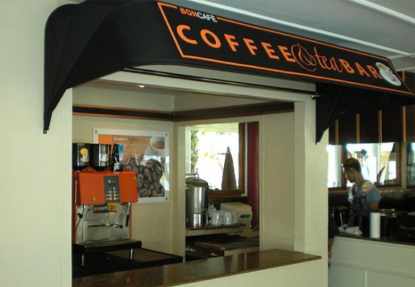 Bon Cafe' Poster