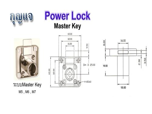 กุญแจลิ้นชัก - เอ็ม ดี โฮมฟิตติ้งส์เซ็นเตอร์ อุปกรณ์เฟอร์นิเจอร์