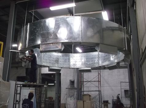 ท่อแอร์สำหรับเครื่องผลิตพลาสติก