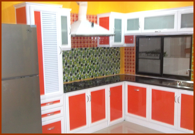 ตู้ชุดครัว - พรประเสริฐ อลูมิเนียม