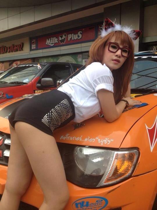 หุ้มสีส้ม รถพี่อุ๊