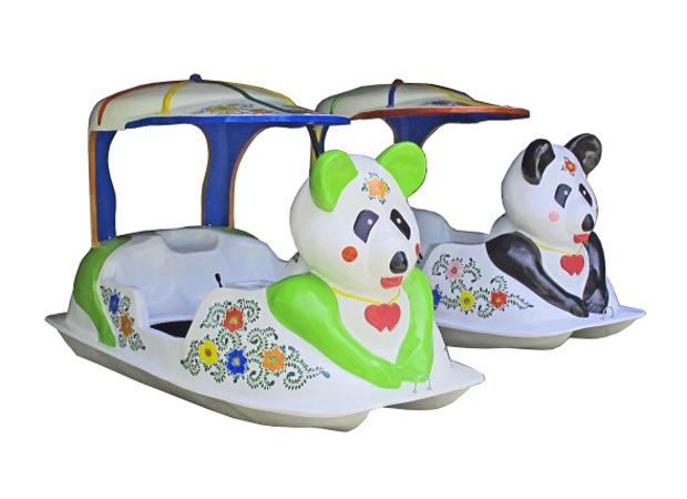 จักรยานน้ำรูปหมีแพนด้า