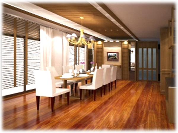 Dining room - พรีดีไซน์ - รับสร้างบ้านหรู