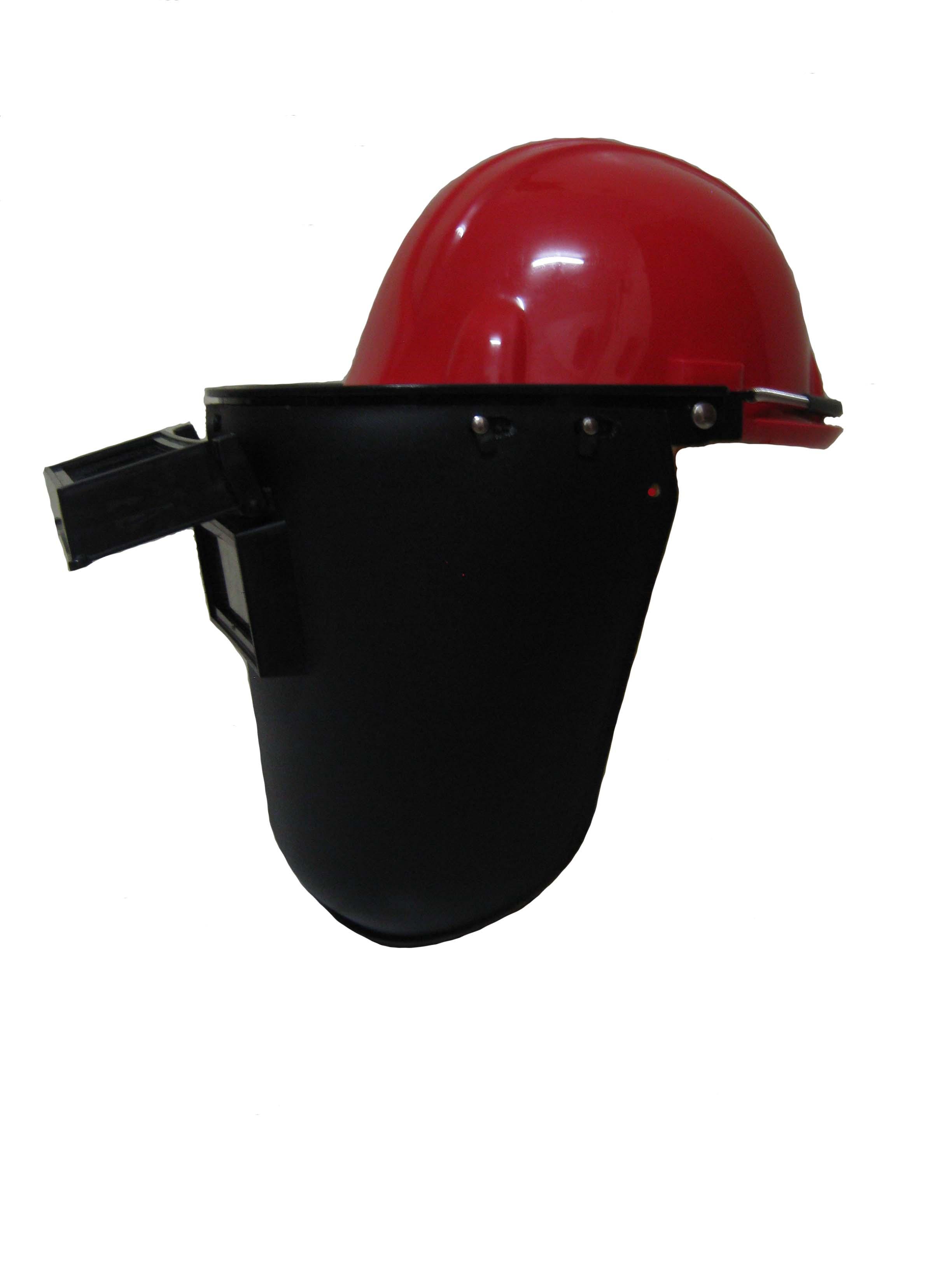 หน้ากากอ๊อกพร้อมหมวกวิศวกร