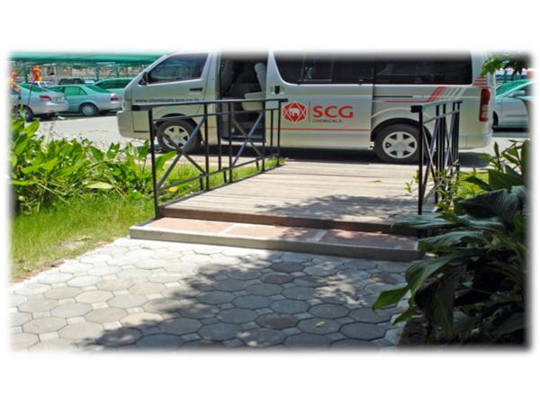โครงการปรับปรุงทางเดินเท้า SCG มาบตาพุด - บริษัท พีเอสเอ เอ็นจิเนียริ่ง แอนด์ คอนสตรัคชั่น จำกัด