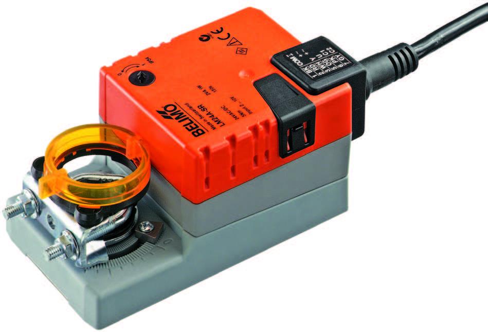LM..A: BELIMO Damper actuators, 5 Nm - บริษัท เอชแวคสแควร์ จำกัด