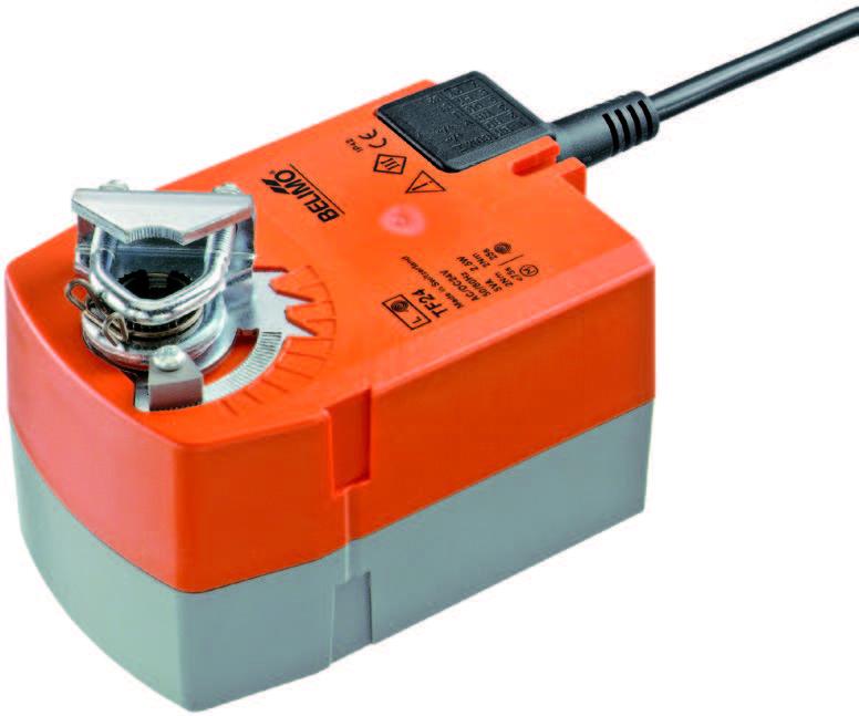 TF: BELIMO Spring return actuators, 2.5 Nm - บริษัท เอชแวคสแควร์ จำกัด