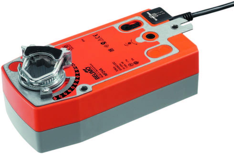 NF..A: BELIMO Spring return actuators, 10 Nm - บริษัท เอชแวคสแควร์ จำกัด