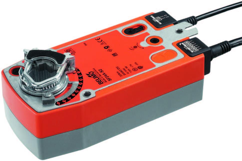 SF..A: BELIMO Spring return actuators, 20 Nm - บริษัท เอชแวคสแควร์ จำกัด