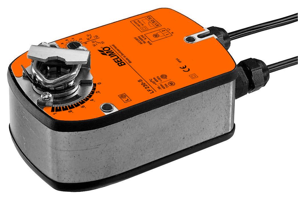 LF: BELIMO Spring return actuators, 4 Nm - บริษัท เอชแวคสแควร์ จำกัด