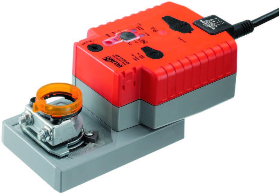 NKQ..A: BELIMO Rotary actuator, 6 Nm - บริษัท เอชแวคสแควร์ จำกัด