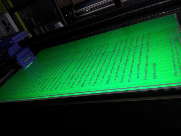 พิมพ์ลงสะท้อนแสง