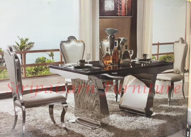 โต๊ะอาหารสแตนเลส