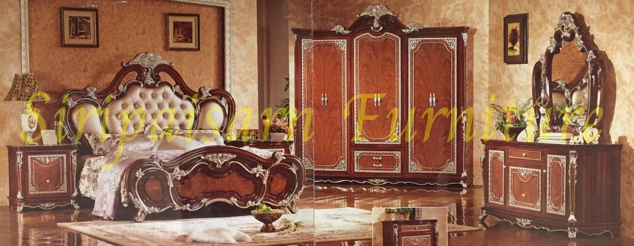 ชุดห้องนอนหลุยส์ 2323#