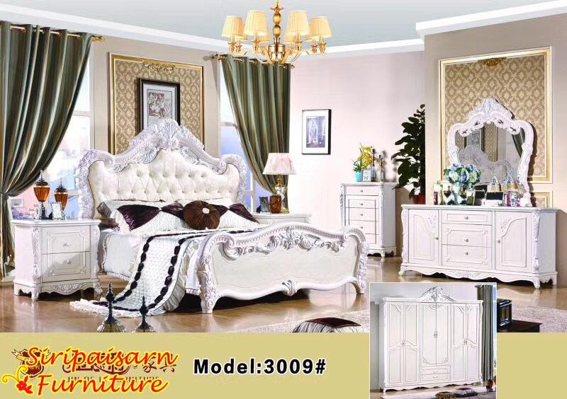 เตียงนอนหลุยส์ สไตล์เจ้าหญิง สวยหวาน น่ารักสุดๆ