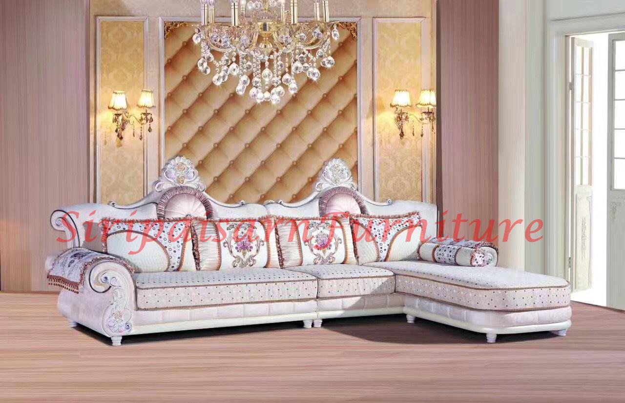ชุดโซฟาหลุยส์ สไตล์วินเทจ สวยน่ารักนั่งสบายมากๆค่ะ